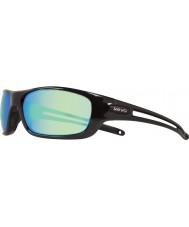 Revo guía Re4070 s - negro gafas de sol verdes agua polarizada