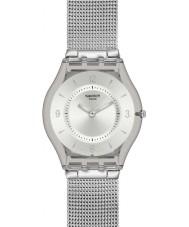 Swatch SFM118M Piel - reloj de metal de punto