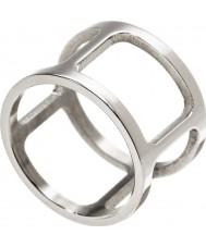 Edblad 3153441911-XL Las señoras anillo de acero Helena - tamaño s (XL)