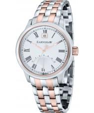 Thomas Earnshaw ES-8033-33 Reloj para hombre pulsera de acero de dos tonos Cornwall