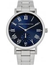 French Connection FC1259USM Reloj para hombre pulsera de acero de plata