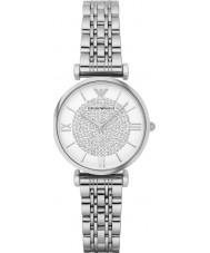 Emporio Armani AR1925 reloj del vestido de acero de plata damas