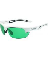Bolle gafas de sol de pistas de arma blanca brillante Competivision pernos s