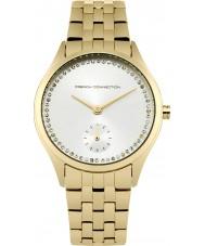 French Connection FC1272GM Chapado en oro de las señoras reloj pulsera
