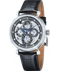 Thomas Earnshaw ES-8043-01 Reloj para hombre de la correa de cuero negro gran calendario