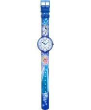 Flik Flak FLNP023 Chicas Disney elsa congelado y reloj multicolor olaf