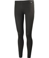 Helly Hansen Pantalones de señora seca negro baselayer