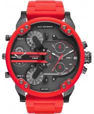 Diesel DZ7370 Mens mr papá reloj pulsera de acero de 2,0 roja