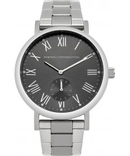 French Connection FC1259BM Reloj para hombre pulsera de acero de plata