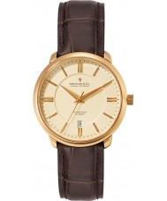 Dreyfuss and Co DGS00101-03 Para hombre reloj automático 1925 del oro de Brown