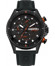 Superdry SYG220BB Reloj oficial de acero para hombre