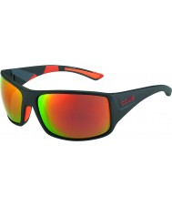 Bolle camo negro gafas de sol polarizadas TNS fuego notechis mate