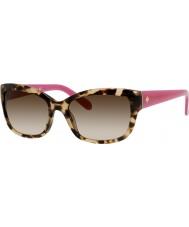 Kate Spade New York Las señoras Johanna-s ryp y6 las gafas de sol de color rosa La Habana