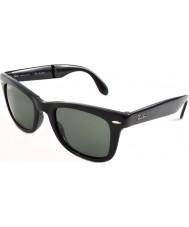 RayBan Rb4105 50 plegables caminante negros 601-58 gafas de sol polarizadas