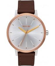 Nixon A108-2632 Señoras de Kensington reloj de la correa de cuero marrón