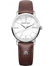 Maurice Lacroix EL1094-SS001-110-1 Damas Eliros reloj de la correa de cuero marrón