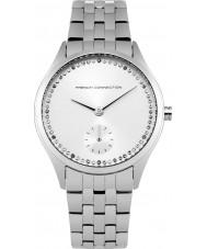 French Connection FC1272SM Las señoras reloj pulsera de acero de plata