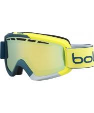 Bolle 21470 gafas de esquí de oro cítricos - azul y amarillo mate Nova II