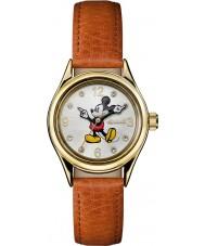 Disney by Ingersoll ID00901 Señoras de la unión de cuero marrón reloj de la correa