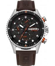 Superdry SYG220BR Reloj oficial de acero para hombre