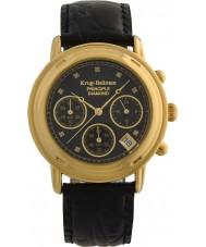 Krug-Baumen 150573DM Para hombre reloj cronógrafo principio de diamante