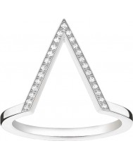 Thomas Sabo D-TR0020-725-14-52 Damas Glam y el alma de ley 925 anillo de diamantes de plata - M.5 tamaño (UE 52)
