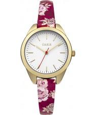 Oasis B1582 Damas multicolor reloj de la correa de caucho
