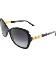 Versace Ve4271b 58 iconos del rock gafas de sol gb1-8g negro gris del gradiente