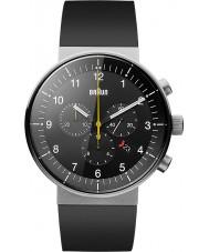Braun BN0095BKSLBKG Para hombre de prestigio reloj cronógrafo negro