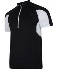 Dare2b DMT136-80040-XS Mens commove negro Camiseta de punto - el tamaño de xs