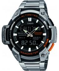Casio SGW-450HD-1BER Mens altímetro de la base de plata y reloj barómetro combi