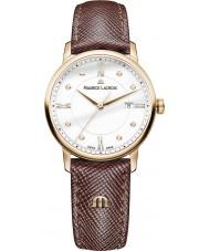 Maurice Lacroix EL1094-PVP01-150-1 Damas Eliros reloj de la correa de cuero marrón