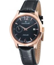 Thomas Earnshaw ES-8034-04 Mens blake reloj de la correa de piel de cocodrilo negro