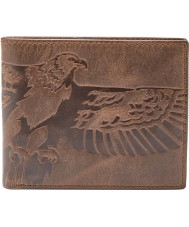 Fossil ML3962200 Cartera de águila para hombre