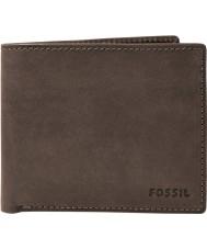 Fossil ML3565200 Billetera nova para hombre