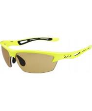 Bolle Perno de neón modulador gafas de sol amarillas v3 golf
