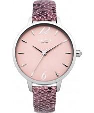 Lipsy LP458 Rosa de las señoras reloj de la correa de cuero