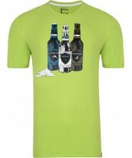 Dare2b Camiseta para hombre de la verde lima de la botella