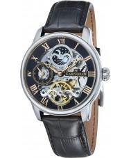 Thomas Earnshaw ES-8006-04 Mens longitud reloj de la correa de piel de cocodrilo negro