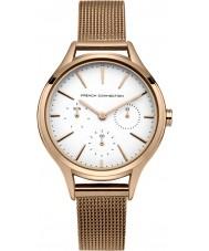 French Connection FC1273RGM Damas se levantaron reloj pulsera chapado en oro