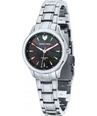 Swiss Eagle SE-6047-11 campo de las señoras de plata Akilina reloj de pulsera de acero