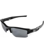 Oakley 03-915 chaleco antibalas chorro XLJ negro - las gafas de sol negras de iridio