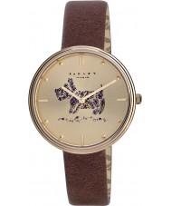 Radley RY2312 Damas jardines romero cuero marrón reloj de la correa
