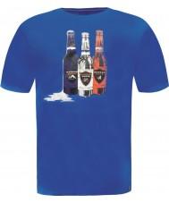 Dare2b DMT323-9PR50-S Mens botella paracaidista camiseta azul - tamaño s