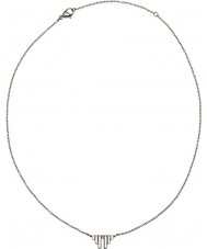 Edblad 31630011 Señoras de las alas divinas de acero de plata collar corto