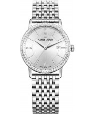 Maurice Lacroix EL1094-SD502-110-1 Damas Eliros reloj de plata brazalete de acero
