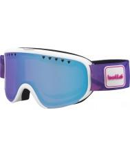 Bolle 21475 Scarlett mate blanco y morado - gafas de esquí aurora
