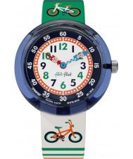 Flik Flak FBNP067 Niños sobrellevar multicolor reloj
