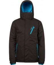 Protest 6710462-290-M Para hombre de la chaqueta verdadera vengador nieve negro - talla M