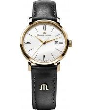 Maurice Lacroix EL1084-PVP01-110 Damas Eliros correa de reloj de oro y cuero negro